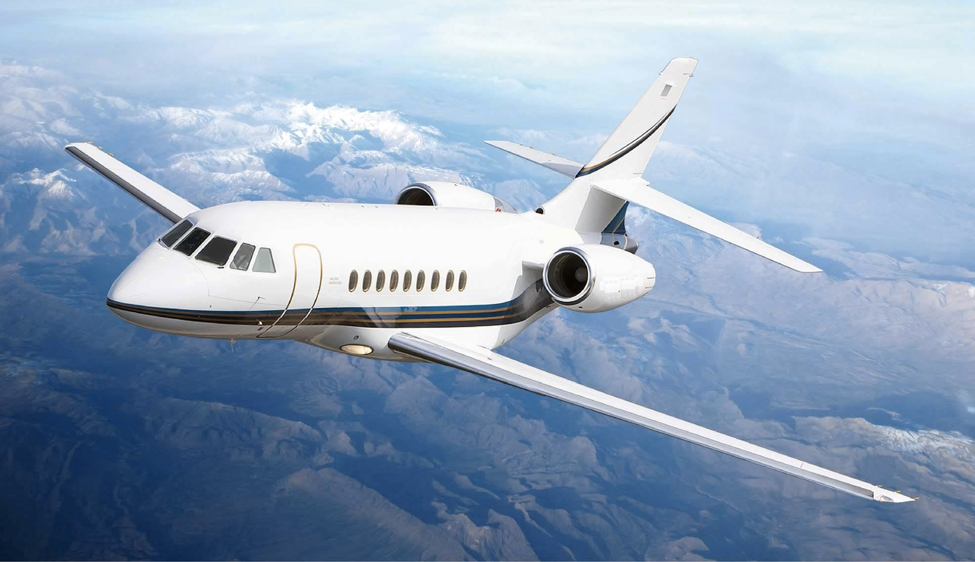 Falcon 2000 charter buy for sale manage management