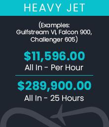 Heavy Jet Pricing